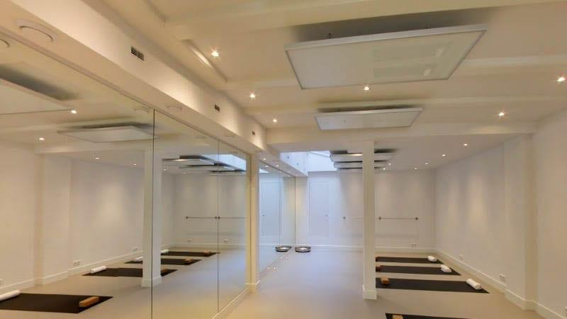 hotyoga verwarming aan plafond yoga studio 3-2
