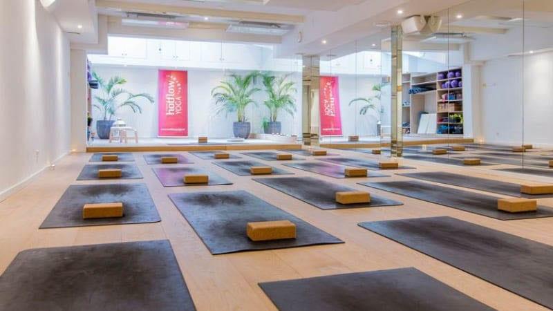 hotyoga verwarming aan plafond yoga studio 4-2